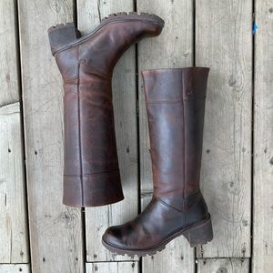 Rockport   leather riding boots